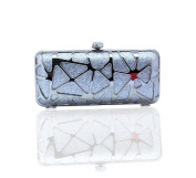 LadyGirl Vogue Geometric Pattern Party Clutch Bag, Prom Evening Handbag,Hard box bag, Gift Ideas--Colours Various, Price/Piece