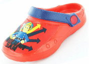 Boys Kids Fireman Sam Cartoon Character Casual Sea Beach Clogs Shoe 61978