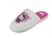 New Girls Hello Kitty Cartoon Character Microsuede Mule Slip On Slippers