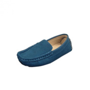 Maxu Toddler Little Girls Boys Suede Slip-On Unisex Child Oxford & Loafer