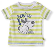 Blue Seven Baby Boys 0-24m Crew Neck Short Sleeve Shirt - Green - Gr.n (704 HL GR.N ) - 0-3 Months