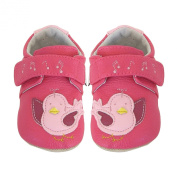 Jack & Lily Butterfly Berry, Baby Girls' Baby Walking Shoes