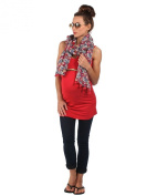 The Essential One - Longline Nursing Vest Red - EOM83