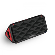 Portable Wireless NFC Stereo Bluetooth Speaker, Geega Triangle Ultra Bass Clear Loud Dual 3W Acoustic Drivers Mini Rechargeable Button Control Bluetooth 4.0 Speaker System with Mic