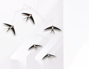 Flensted Five Flying Swallows mobile