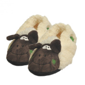 Souvenir Seamus the Sheep Fuzzy Slipper Socks with Grips