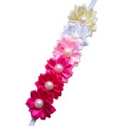 Sanwood Baby Kids Girl Colourful Flowers Hair Band Headband