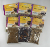 Bero Esoterism Woods & Herbs Package 1 - Pure Resins - Fragrant Woods and Herbs