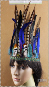 Indian Feather Fancy Carnival Headband