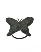 Zac's Alter Ego® Shiny Sequin Butterfly Motif on Elastic