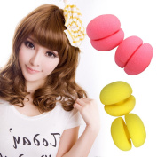 Ckeyin ® 6 Pcs Curlers Sponge Roll Serve Mushroom Can Sleep With Roll Hairdressing Tool Not To Hurt The Hair