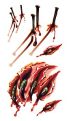 Body Art Temporary Removable Tattoo Stickers Halloween Horror RC2319 Sticker Tattoo - FashionLife