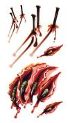 Body Art Temporary Removable Tattoo Stickers Halloween Horror RC2319 Sticker Tattoo - FashionLife