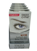 Swiss O' Par Eyelash and Brow Dye Kit Brown