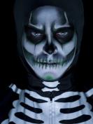 Skull Makeup Kit Halloween white black