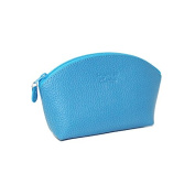 Laurige Leather Cosmetic Bag - Turquoise