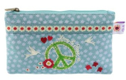 Wendekreis Purse Cosmetics Stofftäschchen & Peace Love