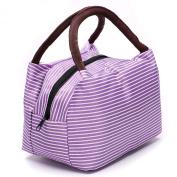 Purple Line Womens Mini Artist Small Satchel Handbag Envelope Purse Bag Cosmetic Bag