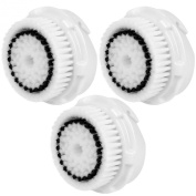 3x E-Cron® Brush Heads. Replacement for Clarisonic Sensitive Facial Cleansing. Compatible with Mia 1, 2, 3(Aria), SMART Profile, Alpha Fit, Plus, Sonic Radiance.
