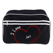Modern Retro Bag with I Love Yuri Black
