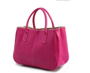2015 Portable Shoulder Women Handbag Large Tote Victor Hugo Women Bags Candy Colour Beach Bag