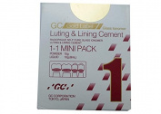 "GC Japan Glass Ionomer Minipack No 1 Luting Cement 5.5X6"" X 13cm White"