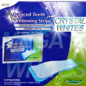 ★★★ 28 ADVANCED TEETH WHITENING STRIPS - PROFESSIONAL HOME WHITESTRIPS *EU AND UK APPROVED *PEROXIDE FREE *NON SLIP TECHNOLOGY * SAFE & EFFECTIVE. ˜…★★