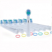 8 Pack Replacement Electric Toothbrush Heads For All Oral B Braun