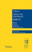 Tolley's Yellow Tax Handbook 2016-17
