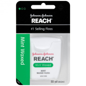 Johnson & Johnson Reach Mint Waxed Dental Floss 55 yards