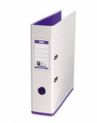 Elba MyColour A4 Lever Arch File - White and Purple