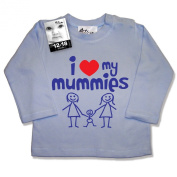 Dirty Fingers, I love heart my Mummies, Baby & Toddler, LS Top