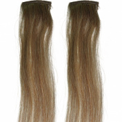 100% Human Hair Streaks, add HIGHLIGHTS to your Hair, 46cm , Deluxe, Quality A Clip-in Hair Extensions.