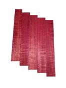 Purple Heart (Curly) - Pen Blank 5 Pack