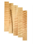 Curly Soft Maple Pen Blank - 5 Pack