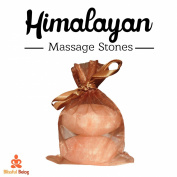 Blissful Being - Himalayan Salt Massage Stones - Himalayan Sea Salt - Pink Himalayan Salt - Stone Massage - Salt Massage Stones