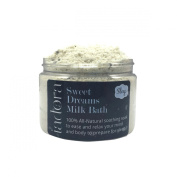 Sweet Dreams Milk Bath Soak - Lavender, Patchouli Sleep-inducing Aromatherapy for Sleep ~ Ultra-creamy, Nourishing, Skin Moisturising Milk Bath Powder ~ Made From Fresh Real Ingredients