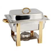 3.8l GOLD ACCENTED CHAFER by AmGood