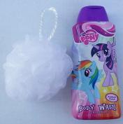 My Little Pony Body Wash 350ml and Lufa Bundle in Rainbow Punch