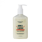 Kirk's Natural Original Coco Castile Liquid Soap with Pump, 8 Fluid Ounce