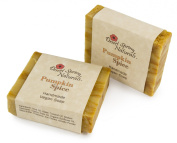 Pumpkin Spice Handmade Bar Soap by Desert Spring Naturals Made With Olive Oil
