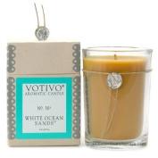 Votivo Aromatic Candle White Ocean Sands by Votivo