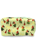 Island Chic Cosmetic Bags Honu Turtle Floral by Welcome to the Islands