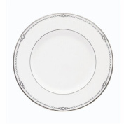 Lenox Pearl Platinum Bone China 23cm Accent Plate by Lenox