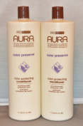 Aura Colour Protecting Conditioner 1000ml (2 pack) Total = 2000ml