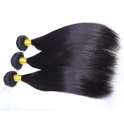 Mike & Mary Virgin Brazilian Hair Extensions 4 Bundles 400g 6A Unprocessed Natural Colour Virgin Brazilian Hair Weaves