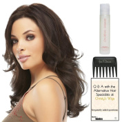 easiPart HD 30cm , Christy's Wigs Q & A Booklet, Synthetic Shampoo & Wide Tooth Comb -Colour
