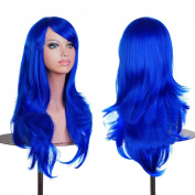 "Ecloud ShopUS® 28 "" 70cm Anime Cosplay Big Curly Wig Halloween costume ball toupee"