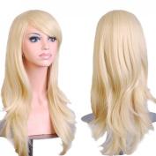 "Ecloud ShopUS® 28 "" 70cm Anime Cosplay Big Curly Wig Halloween costume ball"