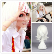 New Anime Tokyo Ghoul Juuzou Suzuya Wig Short Curly White Colour Cosplay Wig
